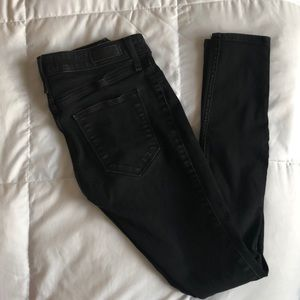 Abercrombie & Fitch Black Jean Legging